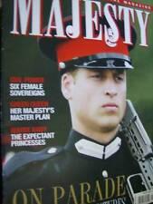Majesty Magazine V28 #1 William On Parade, 2006 Year Photos, Sovereign Ladies