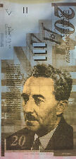 Israeli Money by Steve Kaufman SAK 4/50 29x16 Painting