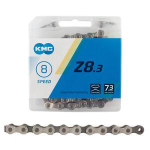 KMC Z8.3 Chain - 8-Speed, 116 Links, Gray