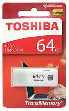 Toshiba USB3.0 64GB Flash Drive TransMemory U301 Hayabusa 3.0 USB Memory Stick