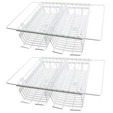 Universal Kühlschrank Gefrierschrank Regale x 2 + Unter Regal Storage Racks Körb...