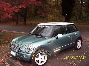 Xenon Halogen Fog Lamps light Kit for 2001-2010 BMW Mini Cooper 05 06 07
