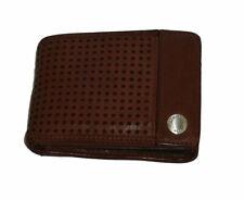 Portafoglio uomo piccolo BLAUER USA mini wallet Men 00478M con portamonete cuoio