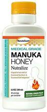 ManukaGuard Medical Grade Manuka Honey, Ginger Peach, 6.8 Ounces