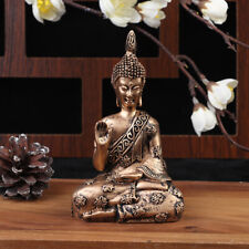 Buddha Statue Thailand Buddha Sculpture Resin Hand Made Hindu Figurine Home D Gf