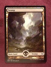 Battle for Zendikar Full Art Land  Swamp #264  VO  -  MTG Magic (Mint/NM)