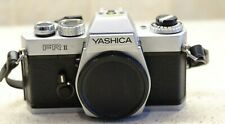 Yashica FR ii Film Body  with front Cap and strap tested works!