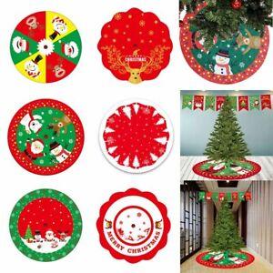 Decor Outdoor Blanket Xmas Floor Cover Carpet Floor Mat Christmas Tree Skirt