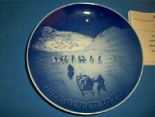 "Bing & Grondahl 7"" Jule After Christmas Collector Plate 1972 Nib"