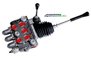 Hydraulikventil Ventil 3-fach 1 x DW 1 x EW Kreuzhebel 1 x DW 50 l/min 350 bar