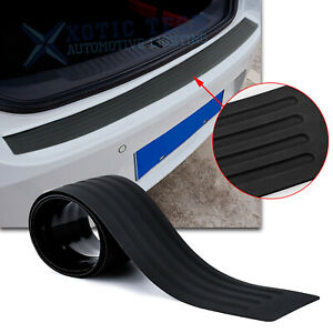 Door Sill Plate Trim Bumper Guard Protect Pad Soft Rubber Cover For Volkswagen