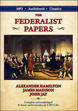 The Federalist Papers - MP3 CD in DVD case