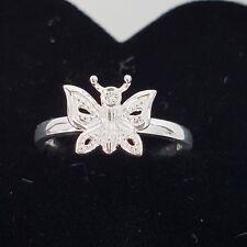 Thomas Sabo ❤ Ring Diamant Schmetterling Gr.54 Silber 925 Butterfly Np129€ NEU