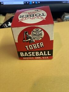 1940's Tober (Rockville, CT.) BASEBALL BOX /PAPER NO BALL!