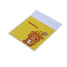 Cookies Self-Adhesive Plastic Bear Print Bags Baking Biscuits Package Bags We