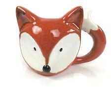 Novelty Ceramic Fox Shaped Mug Cup Animal Gift Tea Coffee