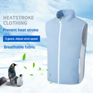 Air Conditioning Cooling Vest Clothes Smart USB Fan Outdoor Working Cycling Suit