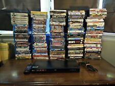 LG Blu-ray/DVD Player & Movies Bundle Lot