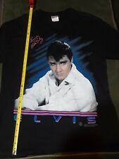 1994 Elvis T-shirt Sincerely Elvis Presley Size Large Black