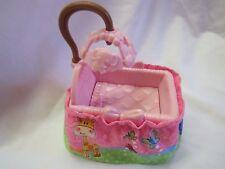 FISHER PRICE Loving Family Dollhouse BABY GIRL PINK BASSINET CRIB Mobile