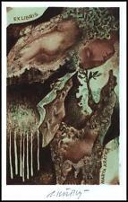 Kratky Bohumil Exlibris L1 Bookplate Erotic Erotik Nude Woman 50