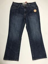 Women's FADED GLORY Stretch Boot Cut Jeans Size 16