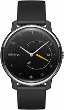 Withings Move ECG - Activity & Sleep Watch with ECG Monitor Black/yellow