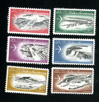 Canal Zone Stamps # C36-41 XF OG NH