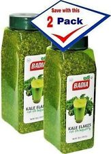 2 Pack Badia Kale Flakes 18 oz energy Green Drink special product Col hojuelas