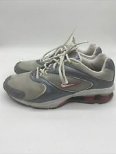Nike Shox NZ Women's Size 9.5 Metallic Silver Pink 308769 011 - Running Shoes