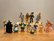 Set 12 Wizard of Oz Figures 1939 Loew's Ren Mgm 1987 1988 Turner
