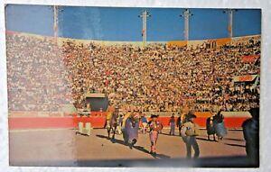 monumental bull ring juarez mexico publisher ROBERTO STUDIO Tarjeta Postal PPC