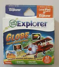 LeapFrog LeapPad Leapster Explorer Learning Game Globe Earth Adventures