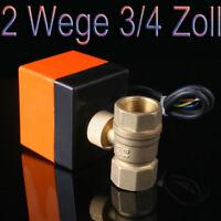 2 Wege 3/4 Zoll DN20 Zonenventil Kugelventil Ventil Absperrhahn 224010