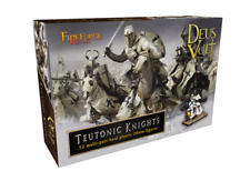 FIREFORGE GAMES FFG001 TEUTONIC KNIGHTS 12 MULTI-PART HARD PLASTIC 28mm FIGURES
