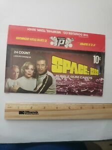 1976 Donruss Space: 1999 TV SHOW Empty Disply Vintage Trading Card Box