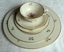 Lenox Rhodora china 5 piece place setting~made in USA~MINT-NR