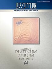 Led Zeppelin - In Through The Out Door Platinum Bass TAB Book *NEW* Sheet Music