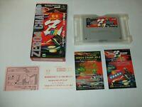 Zero 4 Champ RR Z Boxed Nintendo Super Famicom SFC Japan import