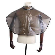 Hair Cutting Collar PVC Waterproof Colouring Cape Barber Cloth Hairdressing  ZC