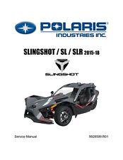 OEM POLARIS SLINGSHOT SL SLR SERVICE REPAIR MANUAL 2015 - 2018 CD 9928599 R01