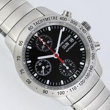 Porsche Design p10 Automatic chronograph 10 ATM nuevo reloj 6605.41 (fecha negro)