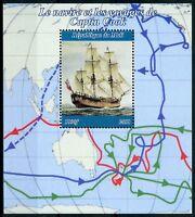 Mali 2018 MNH Captain James Cook Voyages 1v M/S Ships Boats Exploration Stamps