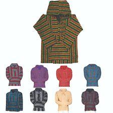 Genuine Mexican Baja Hoodies (LOT OF 30) Wholesale Assorted Colors Size (Medium)