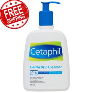 Cetaphil Gentle Skin Cleanser Non-Irritating Lanolin & Fragrance-Free 500ml