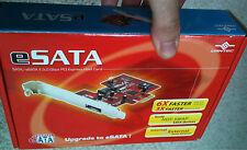 eSATA (external SATA ) plus internal SATA Card