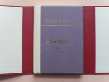 Poems 1950-1965 by Robert Creeley - Signed Limited Edition of 100 w/ Custom Case