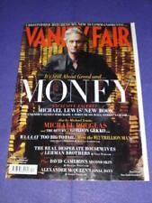 VANITY FAIR #596 - MICHEAL DOUGLAS - April 2010