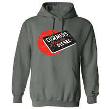 dodge cummins pullover red ball diesel hoodie sweater Cummings hooded SMALL