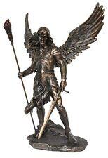 Veronese Bronze Figurine Religious Archangel Saint Sariel Gift Suriel angels